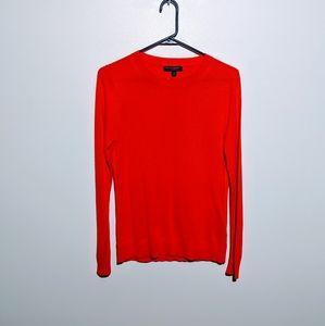 Banana Republic Silk Cashmere Orange Sweater SzS